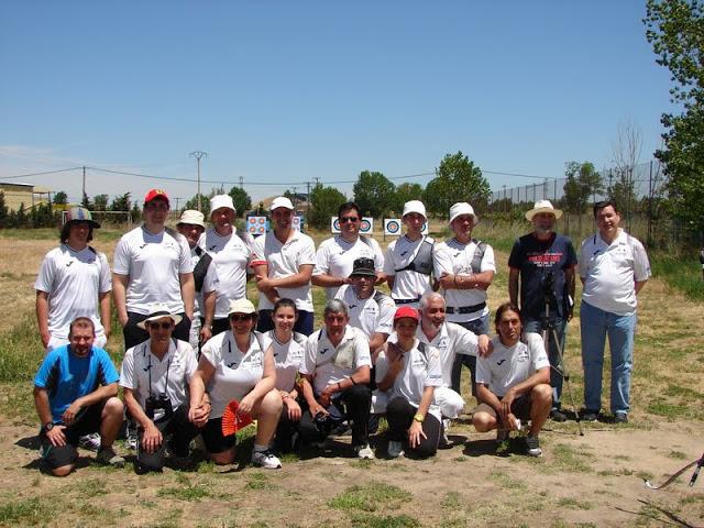 Foto de grupo del torneo