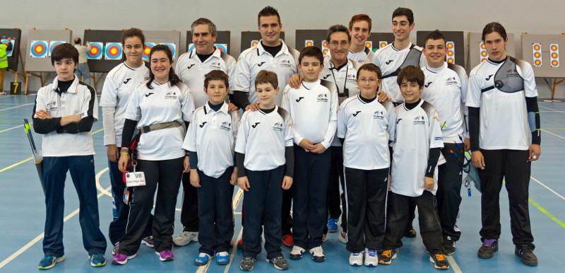 Arqueros Zamoranos en Burgos