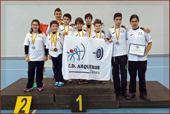 Ganadores Arqueros Zamora
