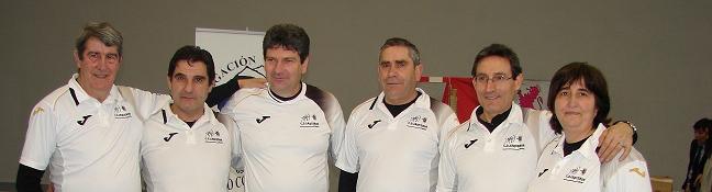 Tano, Ramiro, Manuel, Javier, Daniel y Mati