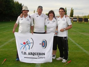 zamoranos en el Campeonato de España de Veteranos