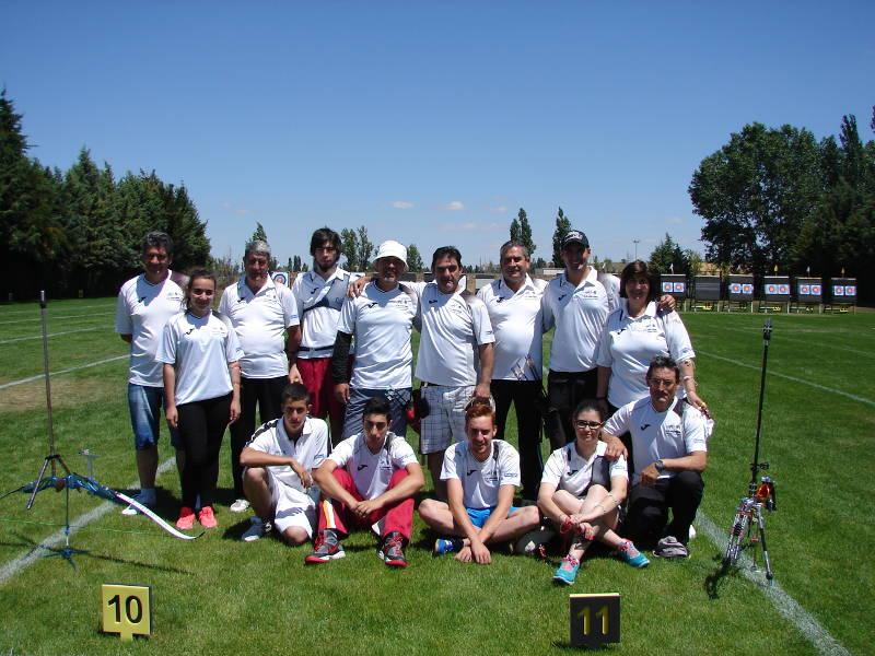 Expedicion del Club al Territorial Celebrado en Valladolid