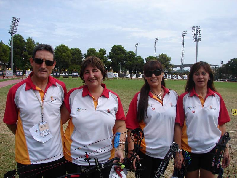 Equipo Atalanta: Daniel García, Mati Peña, María Gómez y Sonsoles Bouzas.