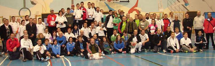 Arqueros participantes en el Torneo Nacional de Navidad 2014