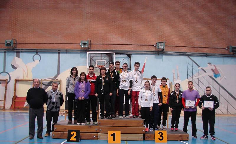 Ganadores junto a Ricardo Ferrero y Santiago Lorenzo