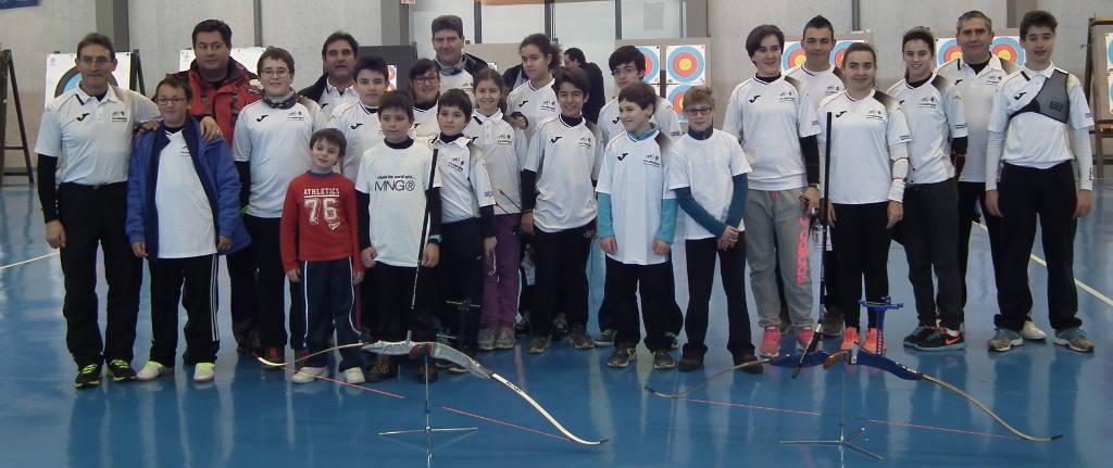 Arqueros y monitores en Salamanca
