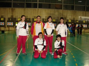 equipo de menores de 14 que asistió al Nacional