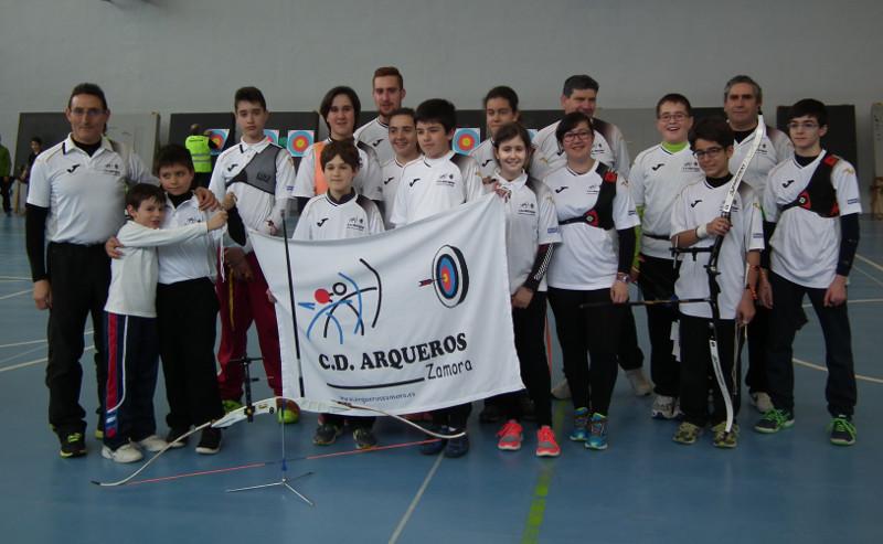 zamoranos en la 2ª joranda de liga en Burgos