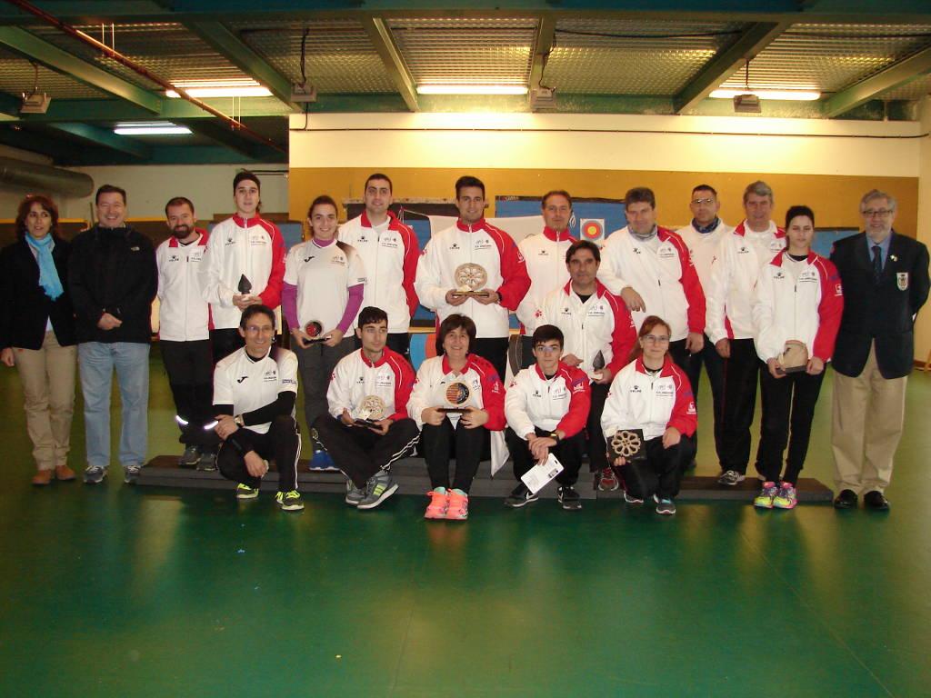 adultos participantes en el campeonato