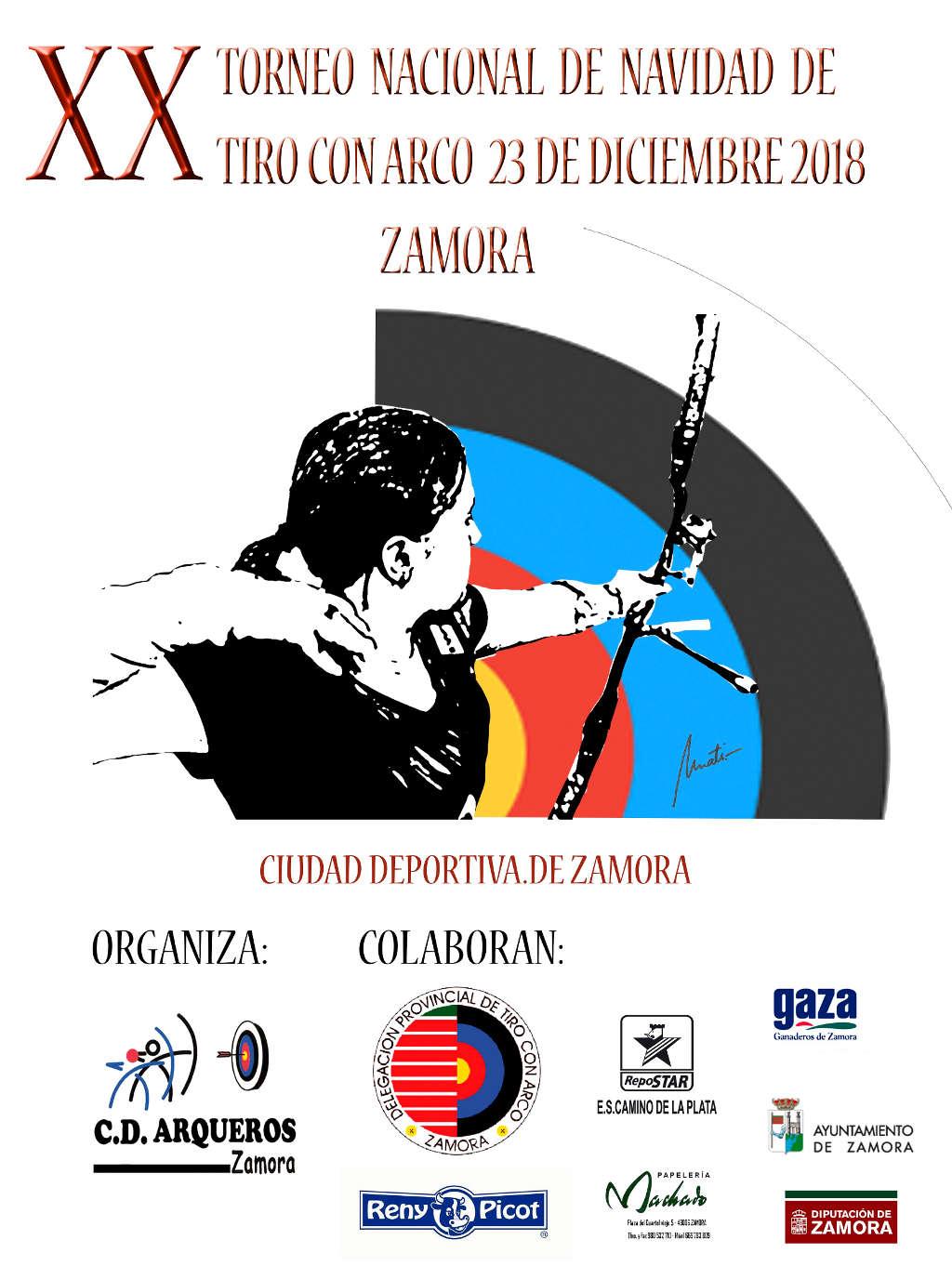 XX TORNEO NACIONAL DE NAVIDAD DE TIRO CON ARCO Y VII TROFEO RENY PICOT 2018  HOMOLOGADO WORLD ARCHERY fa8579ffd4228